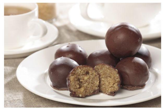 Конфета шоколадно-карамельная