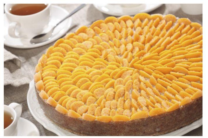 Торт физалис в медовой кураге